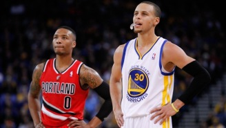 Don't Ask Damian Lillard If He Plans On Joining His Hometown Warriors