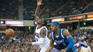 Rudy Gay Prodded Rajon Rondo To Agree On The One Year, $10 Million Deal With The Kings