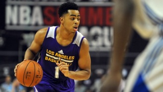 Watch Lakers Top Pick D'Angelo Russell Finally Dazzle A Bit In Summer League