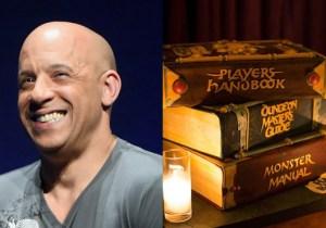 Vin Diesel's 'Dungeons & Dragons' Birthday Cake Is The Geekiest Thing Ever