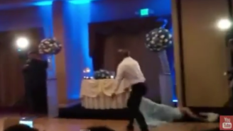 This Wedding Disaster Gets Even Better With Wrestling Commentary