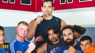 Suck It, Performance Center: Video Now Exists Of The Great Khali's Wrestling Academy