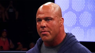 Kurt Angle Was Rushed Back To Hospital Due To Potentially Fatal Complications From Recent Surgery