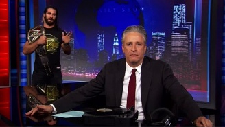 Seth Rollins Returned To 'The Daily Show' In A Segment Endorsed By The Beefy Goodness Of Arby's