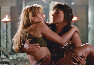 Xena and Gabrielle don't need a new show to reunite thanks to social media!