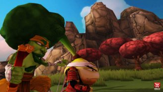 The UPROXX GammaStream Gets Its Veggies With 'Yasai Ninja'