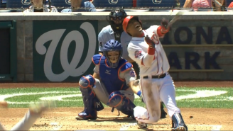 Noah Syndergaard Broke Yunel Escobar's Brain (And Possibly His Wrist) On This Pitch