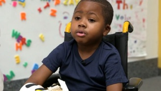 The First Child Recipient Of A Double Hand Transplant Thanks His Doctors
