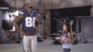 Watch This 10-Year-Old Girl Confuse The Hell Out Of NFL Stars