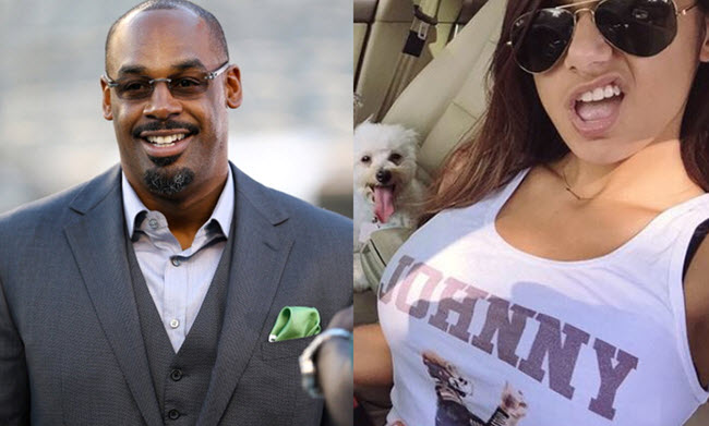 Donovan McNabb and Mia Khalifa