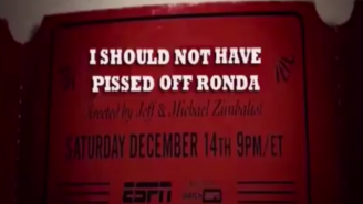 Watch This Tremendous '30 For 30′ Parody For Ronda Rousey