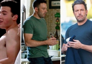 From 'School Ties' To Playing Batman: A Brief History Of Ben Affleck's Body Transformations