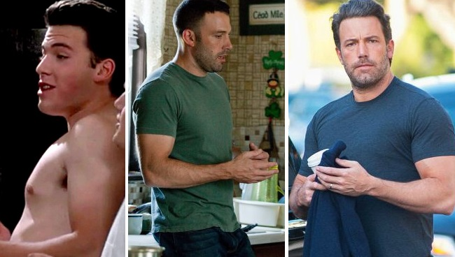 Ben Affleck's Body Transformations Through The Years