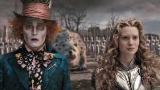 Somehow Johnny Depp's 'Alice in Wonderland' is getting a sequel and here are the posters