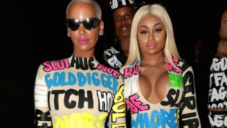 Amber Rose And Blac Chyna Make A Bold Statement On VMAs Red Carpet