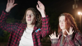 Fifteen Anxious But Delightful Minutes In A Room With Kristen Stewart And Jesse Eisenberg