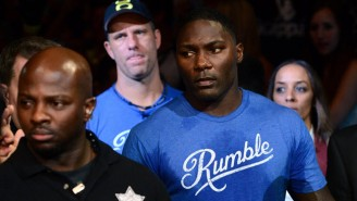 UFC Fighter Anthony Johnson Went On A Disgusting Rant About An 'Ugly Girl' At The Gym