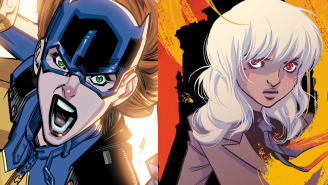 Exclusive: Gotham's ladies are ready to fight on BATGIRL #46 & GOTHAM ACADEMY #12 covers