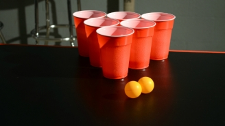 Somebody Thought It Was A Good Idea To Play 'Jews Vs. Nazis' Beer Pong