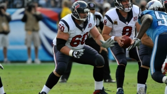 Texans Center Ben Jones Drank His Own Urine, Is Nasty