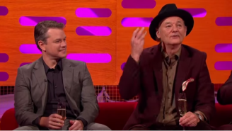 Remembering The Time George Clooney Got Matt Damon And Bill Murray Drunk And Sent Them To A Talk Show