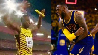 Usain Bolt Pays Homage To LeBron James After Winning Yet Another Gold Medal