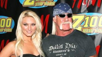 Brooke Hogan On Papa Hulk Hogan: 'Dad's Best Friends With Mr. T, He's Not Racist'