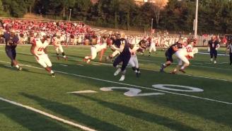 An Ohio High School Returned A Butt Punt For A Touchdown