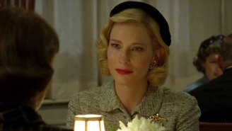 Look at that stunning expression on Cate Blanchett's face in 'Carol'