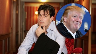 Charlie Sheen Is Ready To Join The Political Circus As Donald Trump's Running Mate