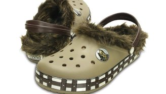Chewbacca Crocs Are Proof That Star Wars Merchandising Has Gone To The Dark Side
