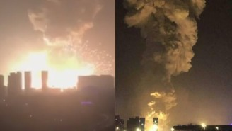 What The Hell Is Going On In China With This Huge Explosion?