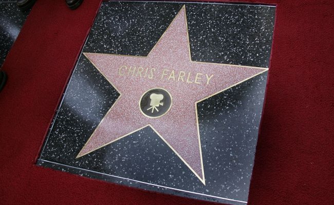 chris farley walk of fame
