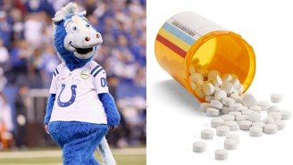 The Colts Are Having A Prescription Drug-Disposal Promotion At Training Camp