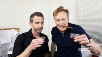 Conan Threw His Producer Jordan Schlansky A Very Awkward 'Forced' Bachelor Party