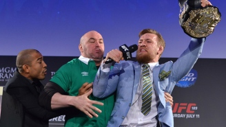 Jose Aldo Is 'Happy' About Being Handed Conor McGregor's Featherweight Title