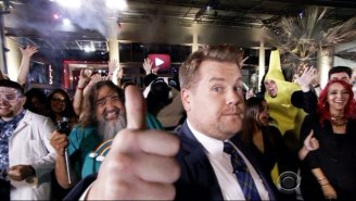 James Corden Paid Homage To YouTube With Double Rainbow Guy And Rebecca Black