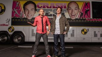 Paul Scheer and Rob Huebel on 'Crash Test' and the tyranny of @FATJEW