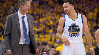 Steph Curry Explains How Steve Kerr 'Inspires' The Warriors In Our Interview About Coaching