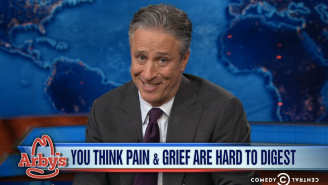 Arby's, The 'Hannity Of Roast Beef Sandwiches,' Made Nice With Jon Stewart
