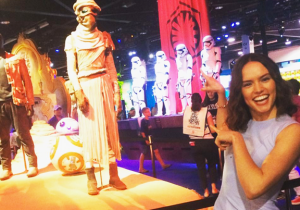 'Star Wars' Star Daisy Ridley Joined Instagram At Disney's D23 Expo And We're All Better For It
