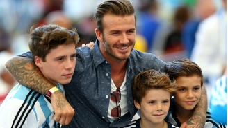 David Beckham Is None Too Pleased About His Parenting Skills Being Questioned
