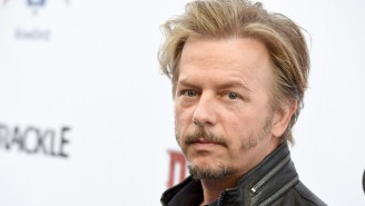 David Spade Talks About The Time Jack Nicholson Asked Out Lara Flynn Boyle Right In Front Of Him