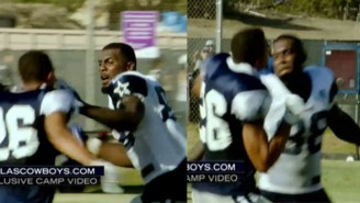 A Brief History Of The Most Memorable NFL Training Camp Fights