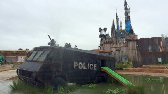 Banksy's Dismaland Is Being Shipped Off To Refugee Camp To Help Build Shelters