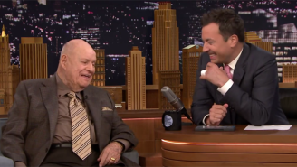 Don Rickles Was A Classic Lovable Jerk To Jimmy Fallon And The Roots On 'The Tonight Show'