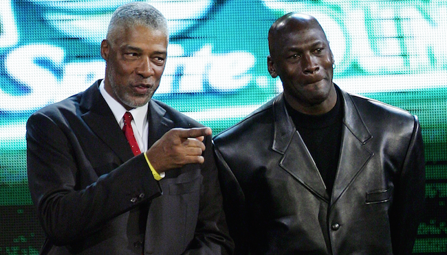 Julius Erving, Michael Jordan