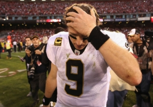Things Get Worse For The Saints: Drew Brees May Have A Shoulder Injury