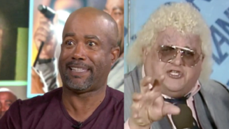 Important News: Darius Rucker Does A Pretty Good Dusty Rhodes Impression