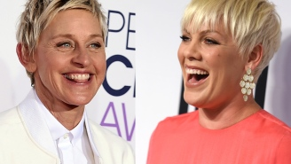 Pink made a new song for Ellen Degeneres' show